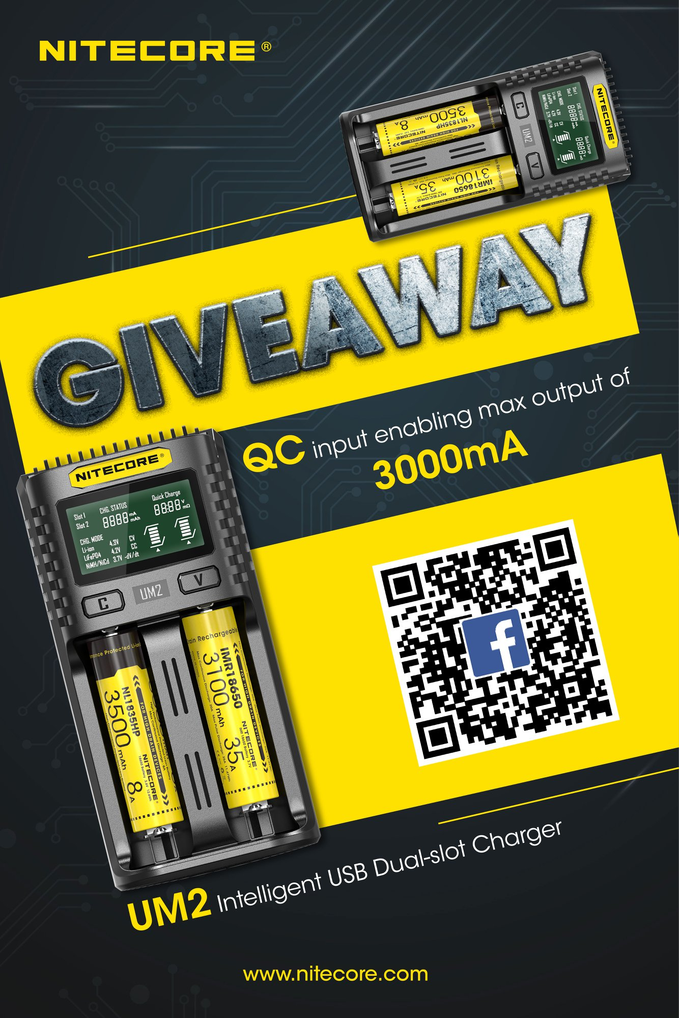 💛NITECORE GIVEAWAY💛 Show your NITECORE products and win UM2💛‼️ Rules:...