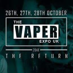 See you guys tomorrow on The Vaper Expo UK!! NITECORE with Vape Technology at booth D500!! 🎉🎉