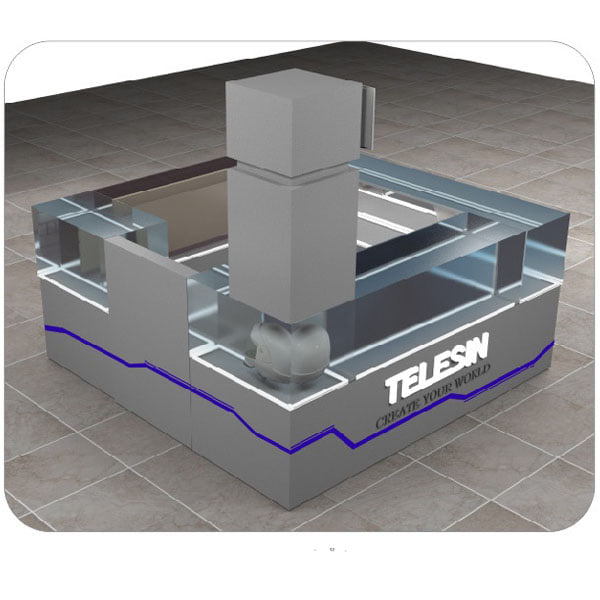 Preliminary Telesin SM Mall kiosk design. Any thoughts? <3 - Yey