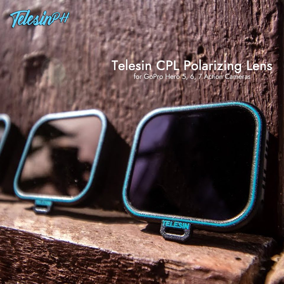 Get more accurate and stunning shots with Telesin CPL Polarizing Lens Filter! Features: