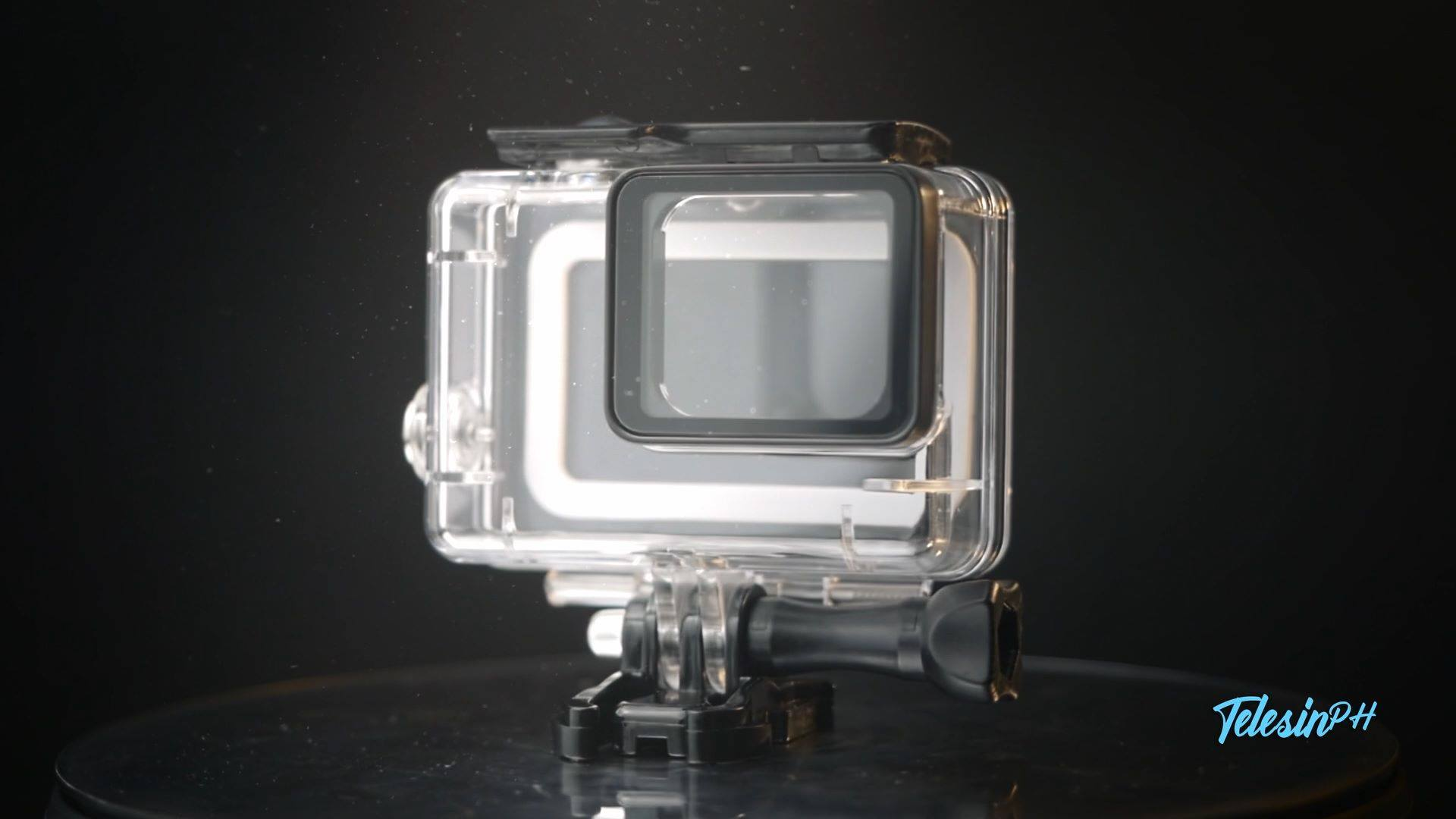 Waterproof case specially designed for the latest GoPro Hero 5, Hero 6, and Hero 7