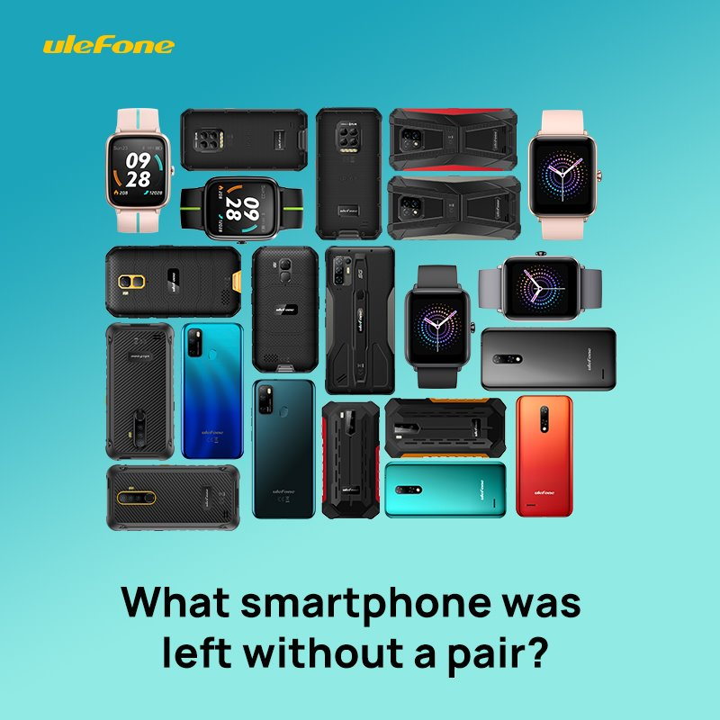 A #riddle for the most attentive people! 😁 There are 11 models of smart devices in this picture. And each model is represented by a pair (albeit in different colors). Can you find a smart device that doesn't have a pair? 🕵‍♂