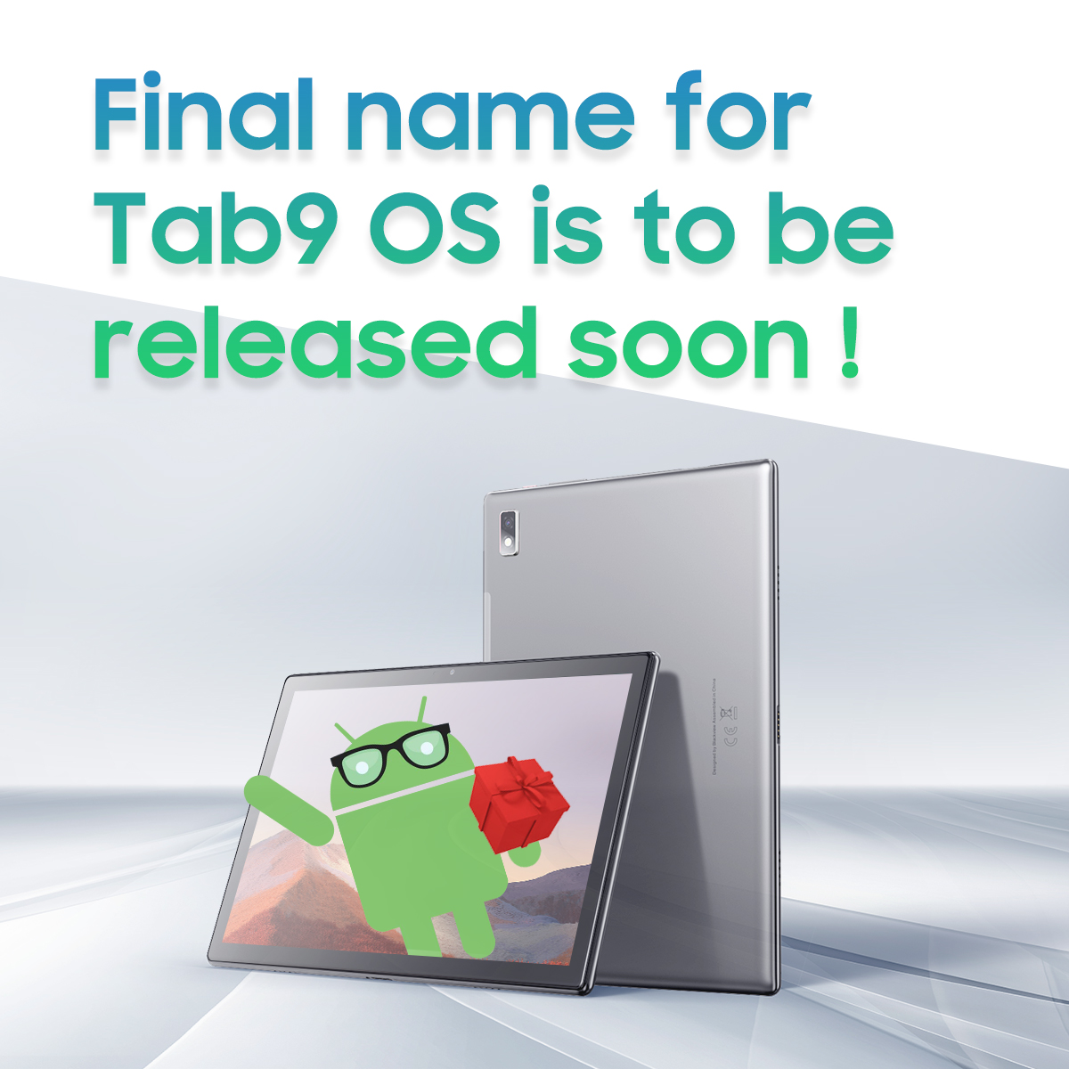 >> Regarding yesterday's winner announcement for #Blackview #Tab9 OS Naming Contest We're truly thankful for all the feedback after our announcement