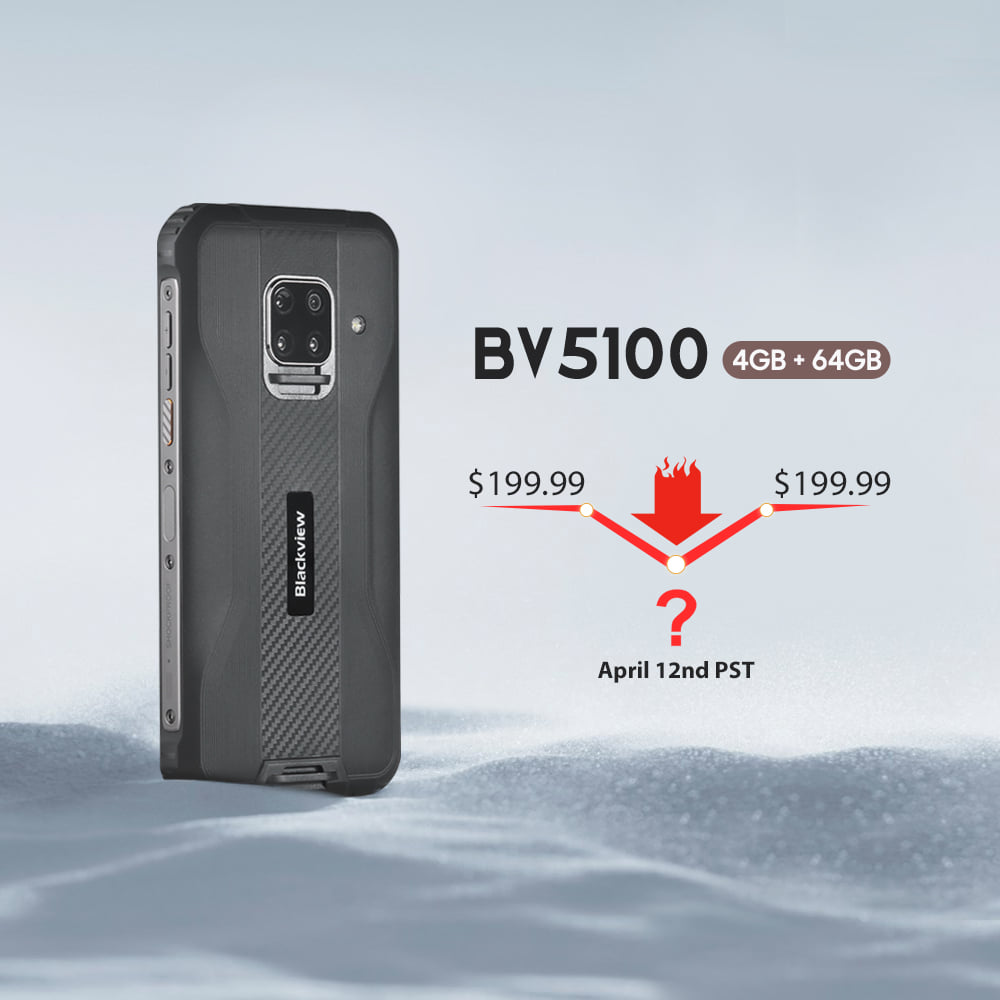 Reveal the price of BV5100 (4GB+64GB)