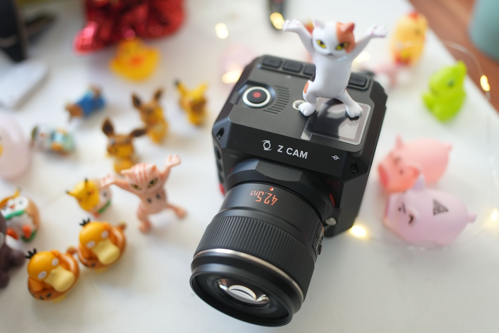 I Choose You! Yongnuo lens is also compatible with Movie Camera Z-CAM E2C. #M43...
