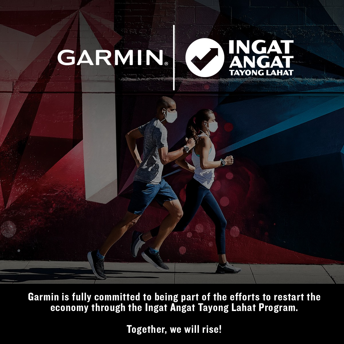 Garmin Philippines is fully committed to being part of the efforts to re-start the economy.