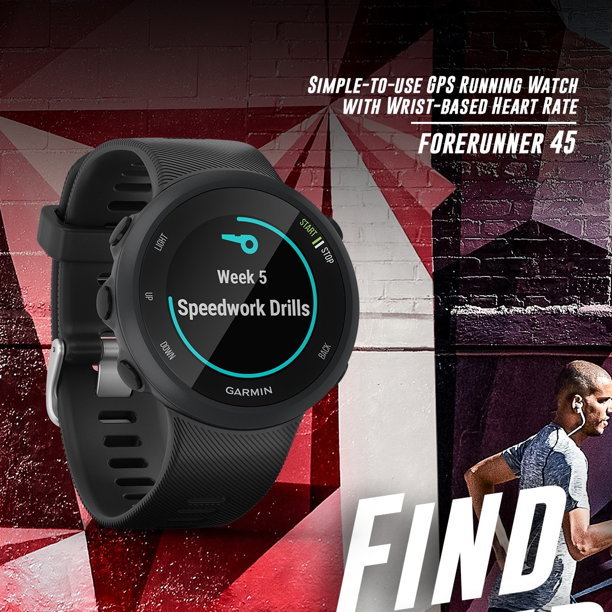 No two runners are the same, and that's exactly what we keep in mind with our running watches