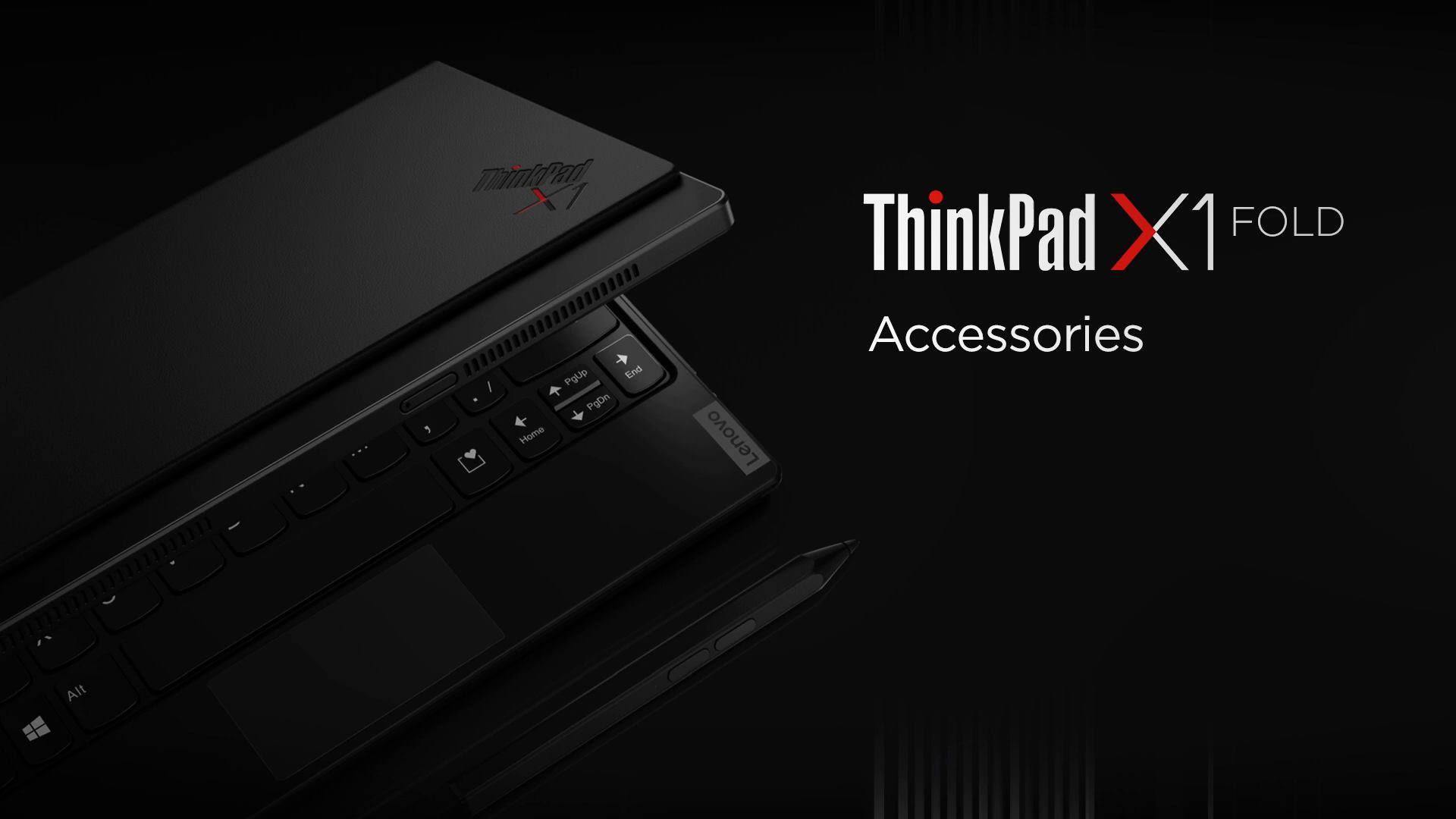 Innovation also comes with accessories too. Make the most out of the Lenovo ThinkPad X1 Fold with optional accessories to help you make the most of your reality-bending device. Shop now at: www.tomtop.com