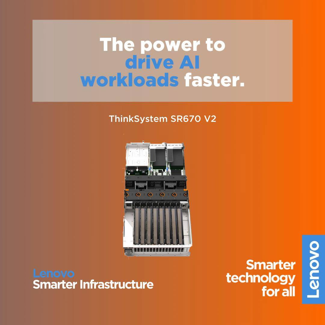The versatile ThinkSystem SR670 V2 supports up to 8 GPUs to power your compute-intensive AI workloads and deliver critical insights faster.  Learn more about its power, adaptability and unique cooling choices: www.tomtop.com