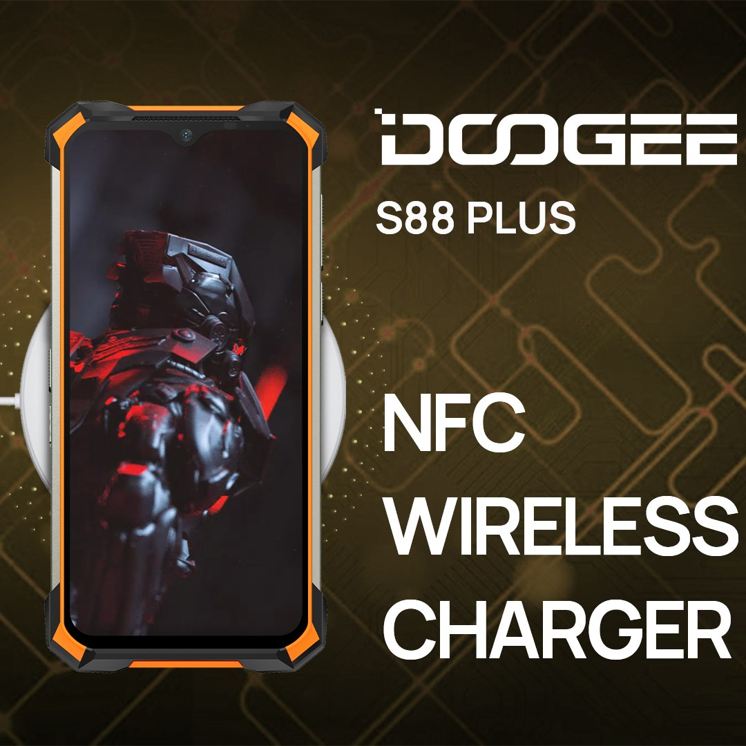 The phone which supports Wireless Charging is cool, you deserve to have one #DOOGEE_S88PLUS to make your life smarter!🤩