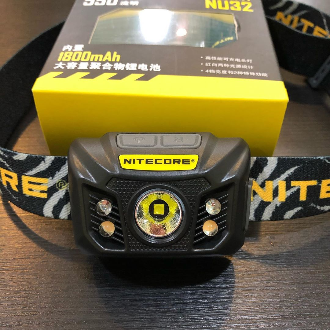 Thinking about getting yourself a new headlamp? How about this one? 😉