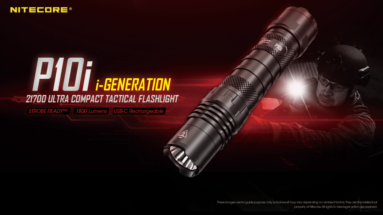 New Release!!! #P10i i-Generation 21700 Ultra Compact Tactical Flashlight