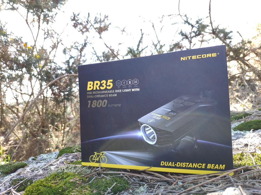 Don't let the dark stop you riding at night. You're obviously going to need some good lights, here come's the BR35 bike light. 😎😉